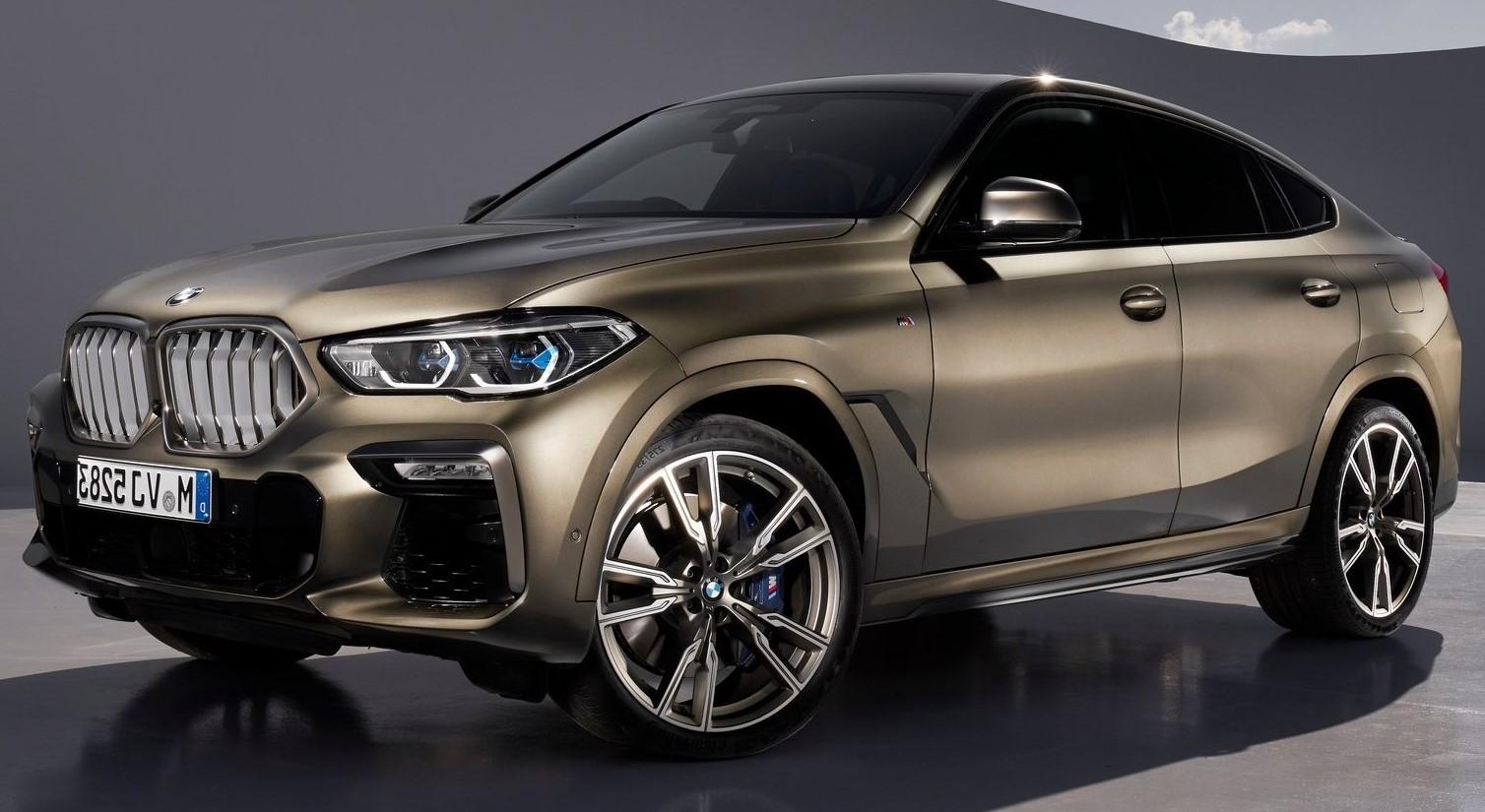 إنطلاق BMW X6 M50i الجديدة كلياً بمحرك V8 بقوة 530 حصان وسعر 2.225 مليون جنيه
