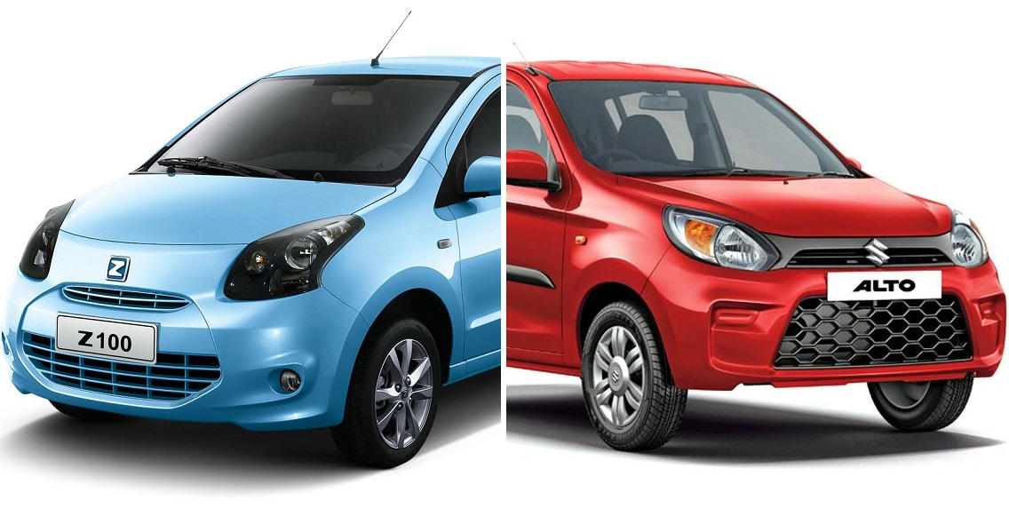 مقارنة تفصيلية بين طرازى سوزوكى ألتو وزوتى Z100، أرخص سيارتين فى السوق المصرية