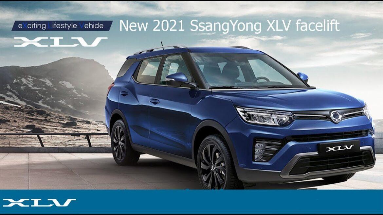 سانج يونج تيفولي XLV فيس ليفت 2021