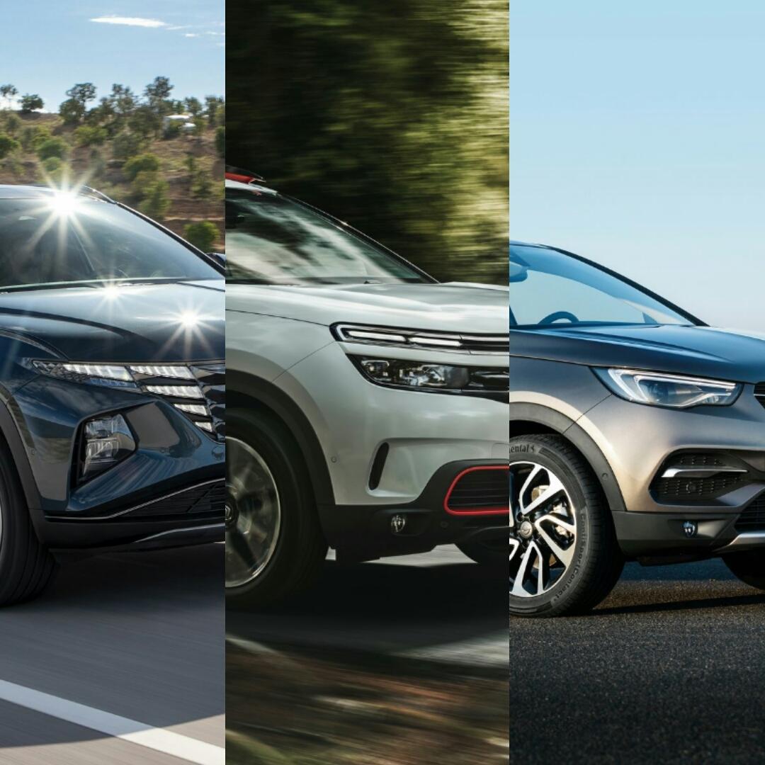 مقارنة ثلاثية تجمع هيونداي و اوبل و سيتروين لفئة SUV مدمجة الحجم