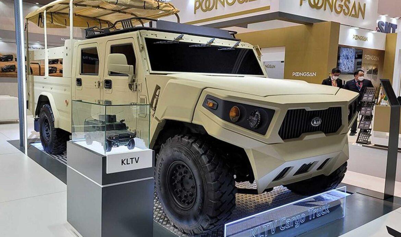 """كيا تعرض تقنياتها للمركبات الدفاعية في معرض """"آيدكس 2021"""""""