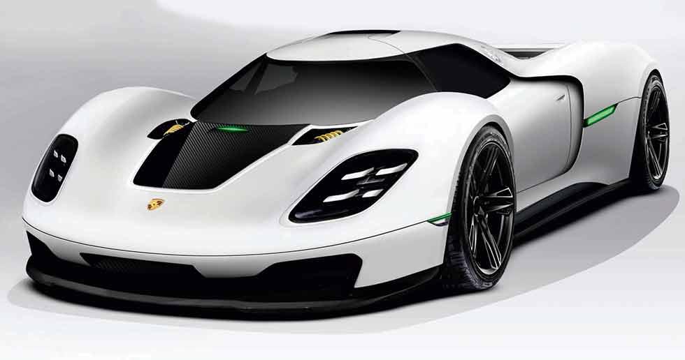 سيارة بورشه الفائقة الجديدة لن تأتى قبل عام 2025 وتقدم تقنيات البطاريات بشكلٍ كافٍ