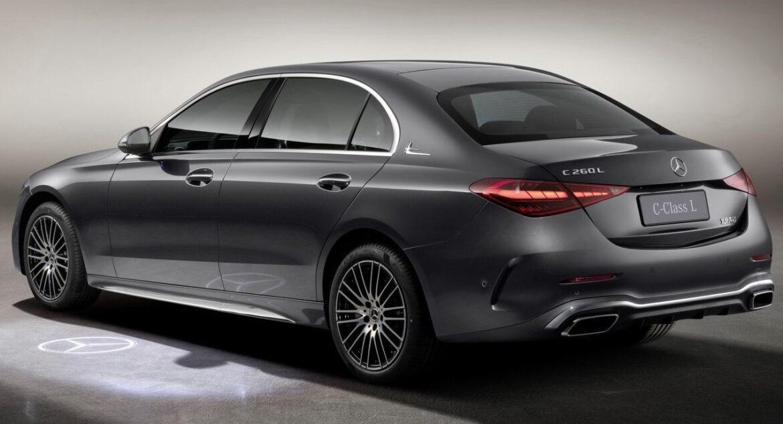 مرسيدس بنز تعرض نسخة L من طراز سي كلاس بقاعدة عجلات أطول والمخصصة للسوق الصينية