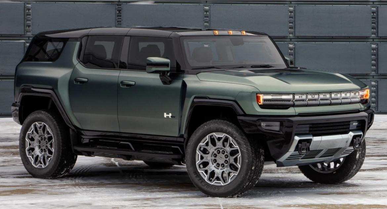 الكشف عن GMC HUMMER EV SUV الجديدة كلياً خليفة H2 بقوة تصل إلى 842 حصان