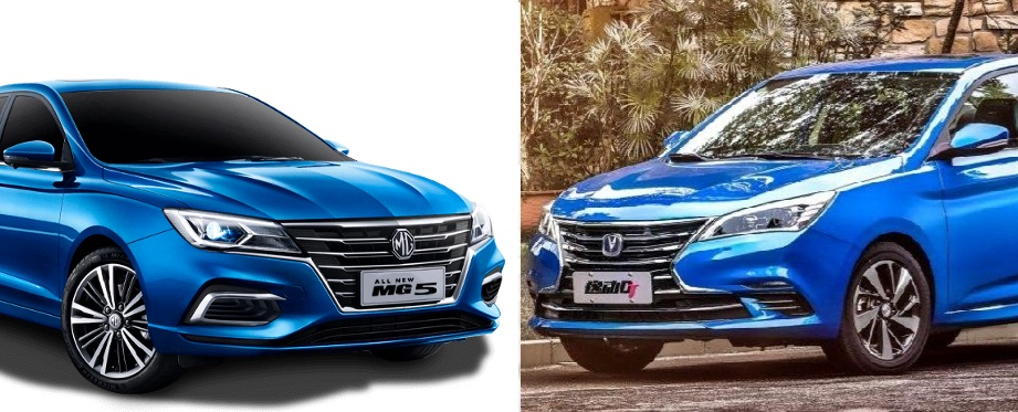 مقارنة تفصيلية بين طرازي شانجان ايدو DT الوارد حديثاً وMG 5 الأكثر مبيعاً