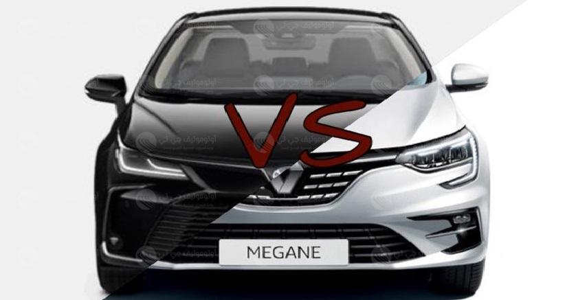 مقارنة تفصيلية بين تويوتا كورولا ورينو ميجان 1600 CC فيس ليفت
