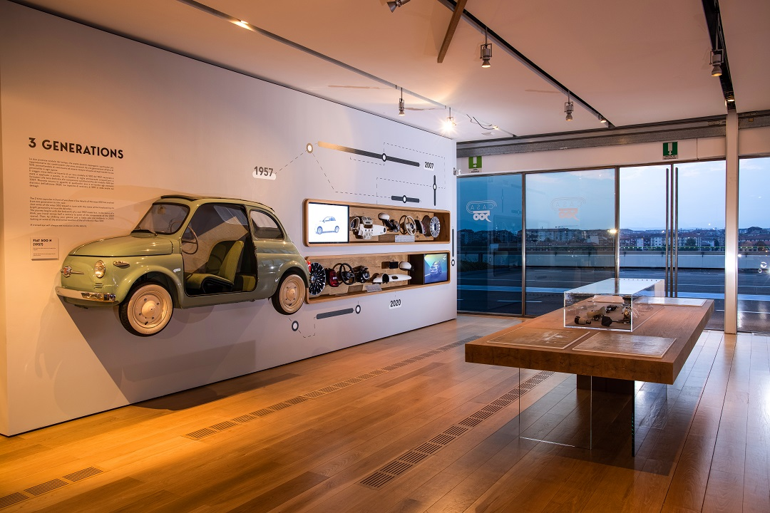 ستيلانتس تفتتح حديقة لابيستا 500 المفتوحة ومتحف سيارات كازا 500 فى مدينة تورينو الإيطالية