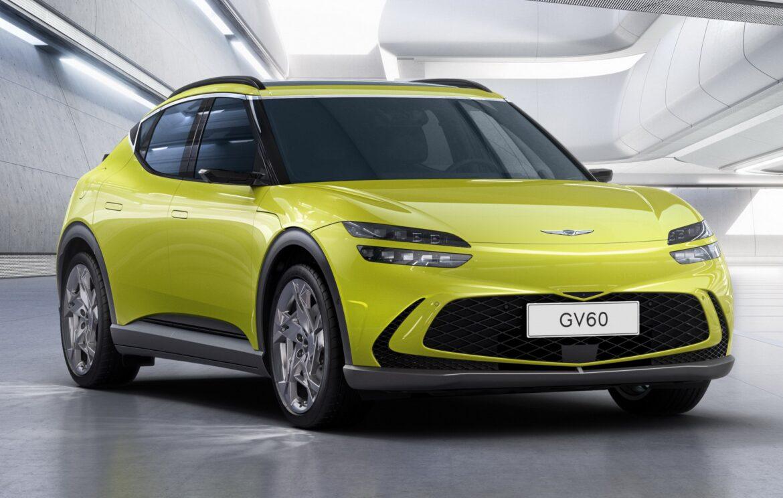 جينيسيس تكشف عن أولى سياراتها الكهربائية بالكامل GV60